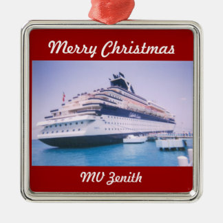 Cruise Ship Zenith Customizable Christmas Ornament