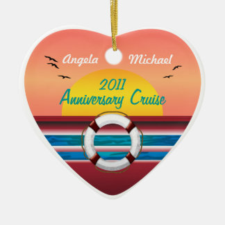 Cruise Sunset Design - Your Occasion Template Christmas Ornament