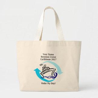 Cruise Themed Jumbo Tote Bag