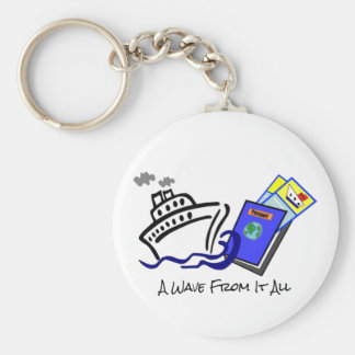 Cruise Themed Keychain