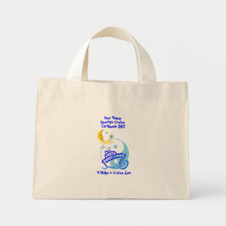 Cruise Themed Tiny Tote Bag Cruise Zen