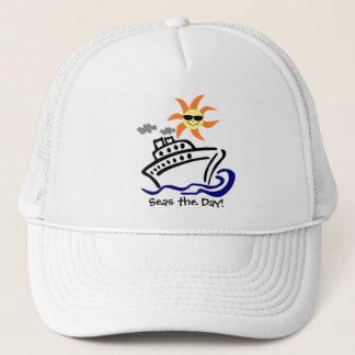 Cruise Themed Trucker Hat