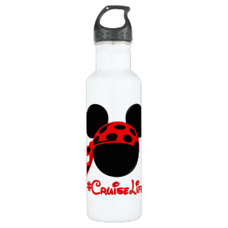 #CruiseLife Refillable Water Bottle - Stainless