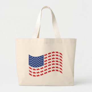 cRUISER-fLAG-wAVE Tote Bag