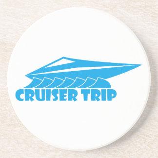 cruiser trip drink coaster