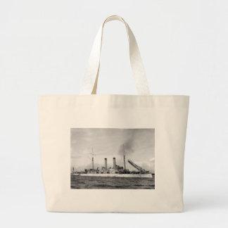 Cruiser U.S.S. Atlanta, 1903 Tote Bags