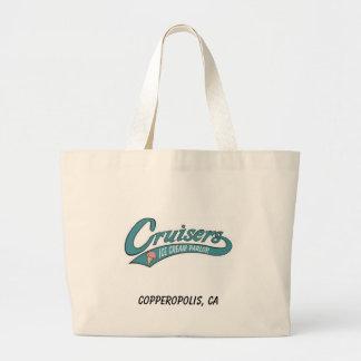 Cruisers bag, Copperopolis, CA Jumbo Tote Bag