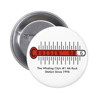 Cruisin' 98.6 Button