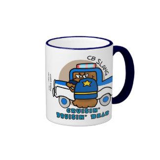 Cruisin' Bruisin' Bear Ringer Mug