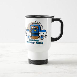 Cruisin' Bruisin' Bear Travel/Commuter Mug