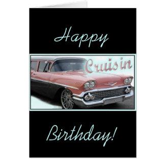 Cruisin Greeting Card