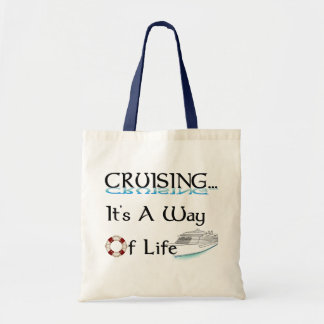 Cruising... A Way Of Life Budget Tote Bag