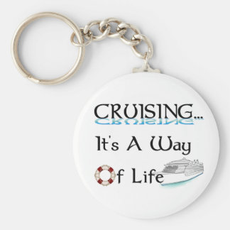 Cruising... A Way Of Life Key Ring