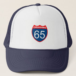 Cruising at 65 trucker hat