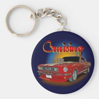 Cruising classic key ring