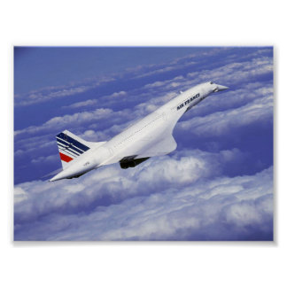 Cruising Concorde Poster