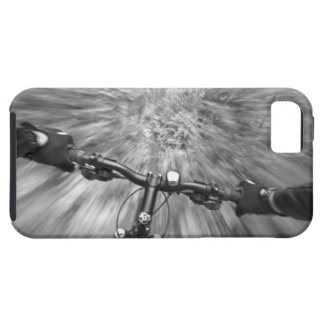 Cruising down a buff section of singletrack iPhone 5 case