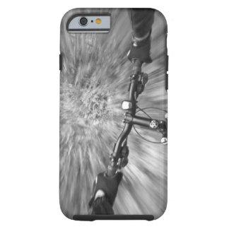 Cruising down a buff section of singletrack tough iPhone 6 case