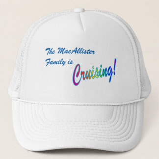 Cruising Family Personalized Trucker Hat