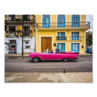 Cruising In Havana Photo Print