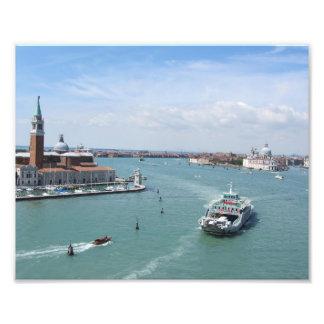Cruising into Venice Photo