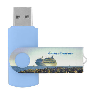 Cruising Past the Jetties USB Flash Drive