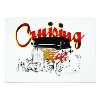 Cruising Roadster 13 Cm X 18 Cm Invitation Card
