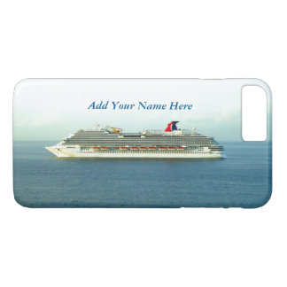 Cruising the Tropics Personalized iPhone 7 Plus Case