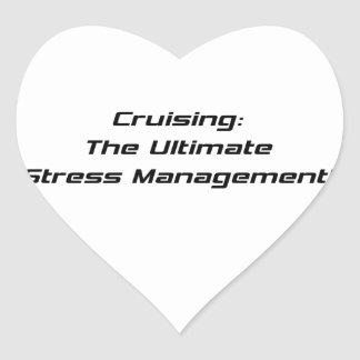 Cruising The Ultimate Stress Management Heart Stickers