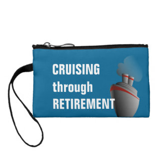 Cruising Through Retirement Cruise Travel Coin Wallets