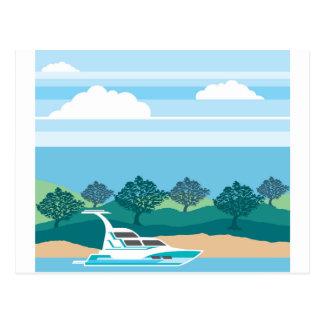 Cruizer Boat Postcard