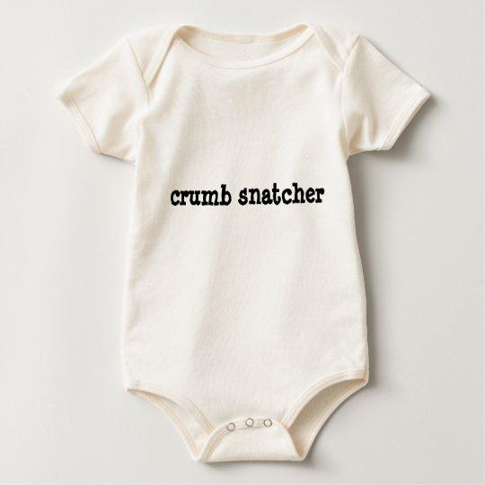 crumb snatcher baby bodysuit