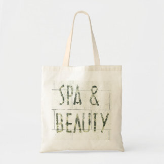 crumbling Spa & Beauty tote Canvas Bags