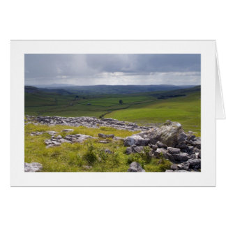 Crummack Dale, The Yorkshire Dales Greeting Card