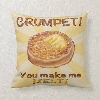 Crumpet Cushion
