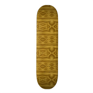 Crumpled abstract paper skateboards