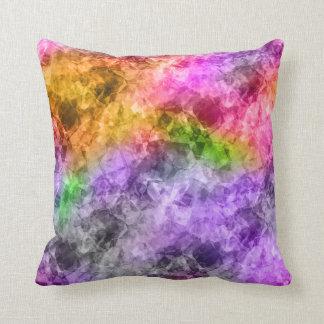 Crumpled Exotic Texture Throw Pillows