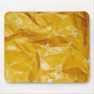 Crumpled paper design mouse mat