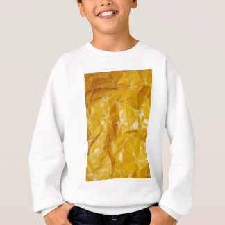Crumpled paper design sweatshirt