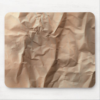 Crumpled paper mousepads