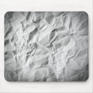 Crumpled Paper Mouse Pad
