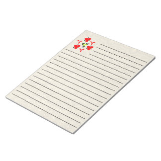 crumpled paper pattern notepad
