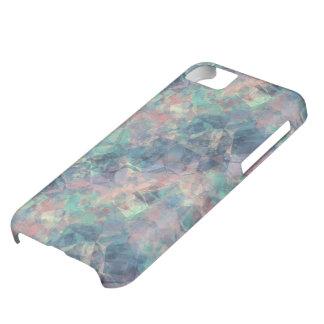 Crumpled Sunset Blue Texture iPhone 5C Case