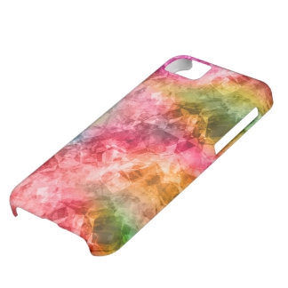 Crumpled Tropical Texture iPhone 5C Case