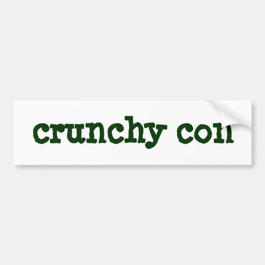 crunchy con bumper sticker