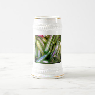 Crunchy Courgettes Beer Stein
