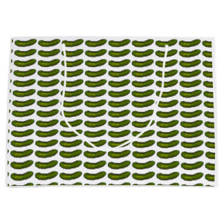 Crunchy Green Dill Pickle Pickles Gift Bag