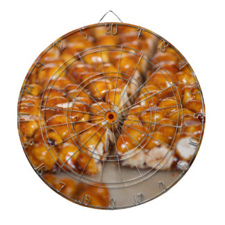 crunchy hazelnuts dartboard