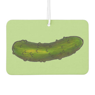 Crunchy Kosher Green Dill Pickle Pickles Foodie Car Air Freshener