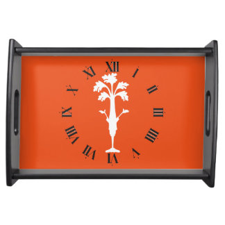 'Crunchy Time' Celery Charles Logo Serving Tray